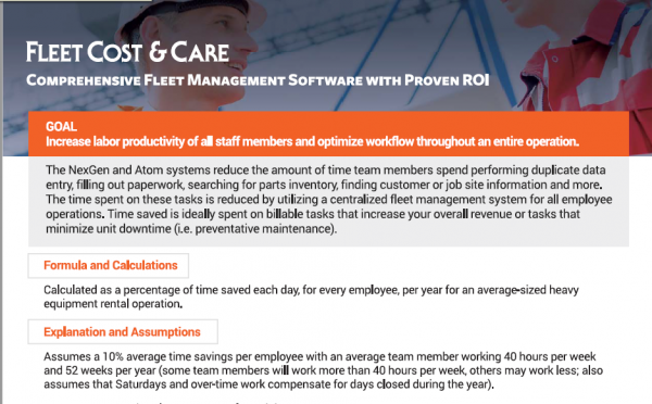 Fleet Management Software Solutions with Proven ROI